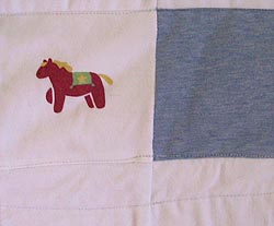 Babyclothesquilthorse