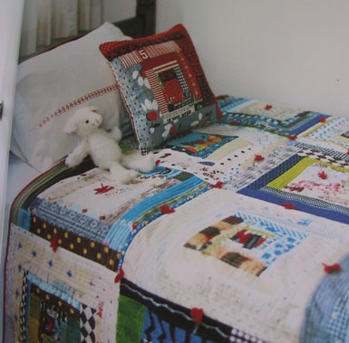 Patchworkbedspread