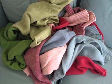 Pileofsweaters